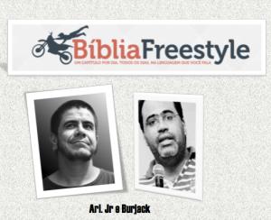 A Bíblia Freestyle é a Bíblia para os fortes!