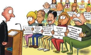 A realidade de muitas igrejas. Pregador x Igreja