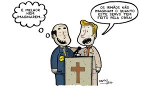 Politicos x lideres evangelicos